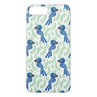 Hyacinthのコンゴウインコパターン iPhone 8 Plus/7 Plusケース