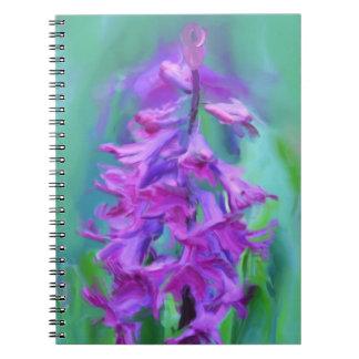 Hyacinthの花 ノートブック