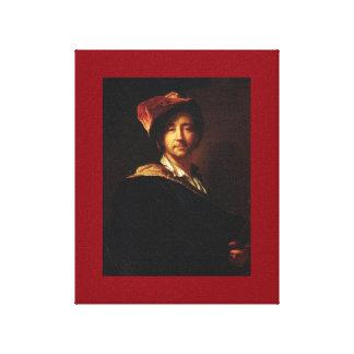 Hyacinthe Rigaud -自画像 キャンバスプリント