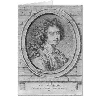 Hyacinthe Rigaud 1752-65年のポートレート カード