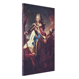 Hyacinthe Rigaud - Frederick Augustus II キャンバスプリント