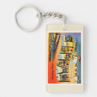 HyannisのケープコッドマサチューセッツMA旅行記念品 キーホルダー