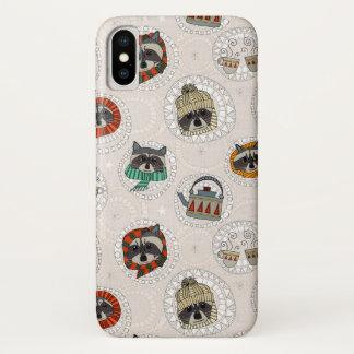 hygge raccoons iPhone x ケース