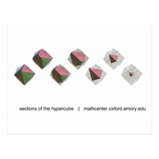 Hypercubeのセクション ポストカード