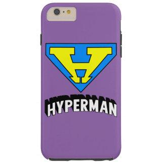 Hypermanのロゴ Tough iPhone 6 Plus ケース