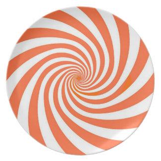 Hypnoのオレンジプレート プレート