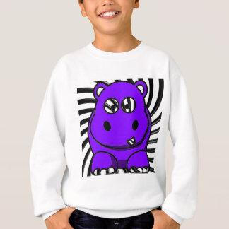 Hypnoのカバの紫色 スウェットシャツ