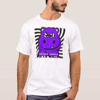 Hypnoのカバの紫色 Tシャツ