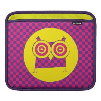 HypnoのフクロウのiPadの袖 iPadスリーブ