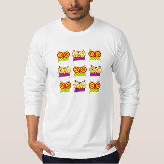 HypnoのフクロウのTシャツ Tシャツ