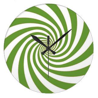 Hypnoの円形の時計 ラージ壁時計