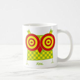 Hypnoの名前入りなフクロウはマグduble味方しました コーヒーマグカップ