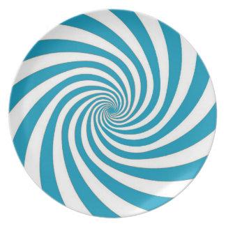 Hypnoの青いプレート プレート