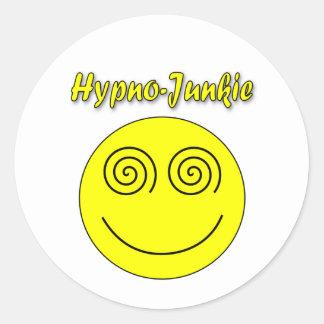 Hypno麻薬常習者のスマイリー ラウンドシール