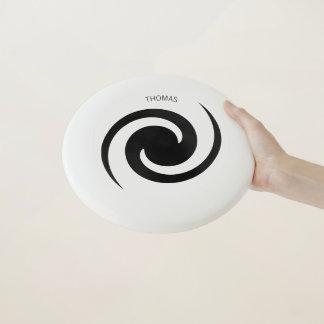 Hypnotic Galaxy Frisbee with Custom Name Wham-Oフリスビー