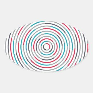 #Hypnotize 楕円形シール