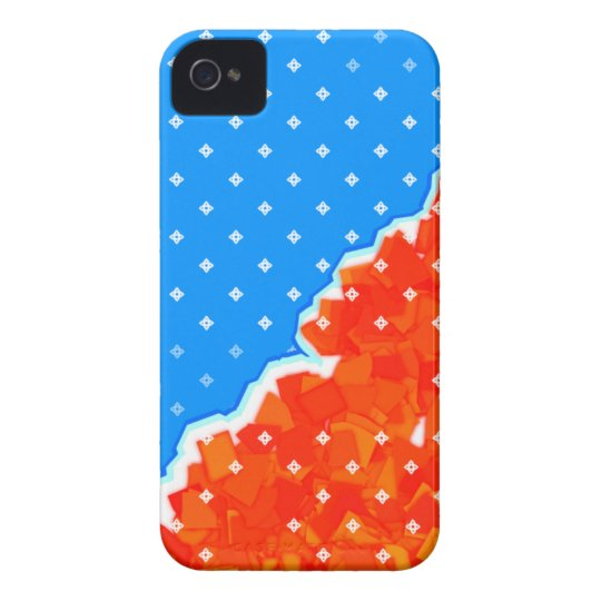 hysterical blue Case-Mate iPhone 4 ケース
