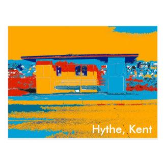 Hytheの海岸地区 ポストカード