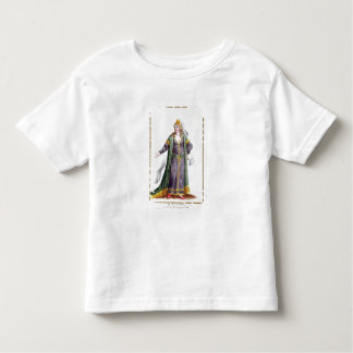 Hyu陳の「Receuil desからのGenghis Khanの妻、 トドラーTシャツ