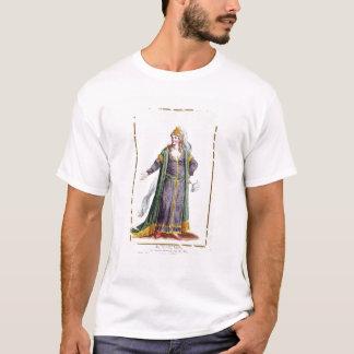 Hyu陳の「Receuil desからのGenghis Khanの妻、 Tシャツ