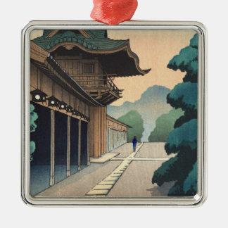 Hyuga Shisui Kameido Shrineshinのhangaの景色 メタルオーナメント