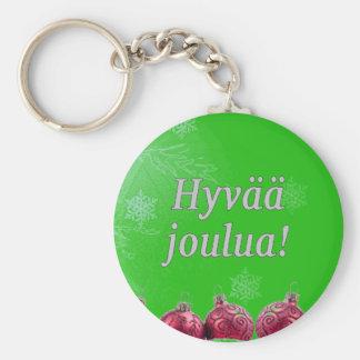 Hyvääのjoulua! フィンランドのwfのメリークリスマス キーホルダー