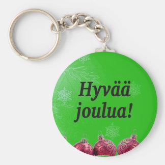 Hyvääのjoulua! フィンランドbfのメリークリスマス キーホルダー