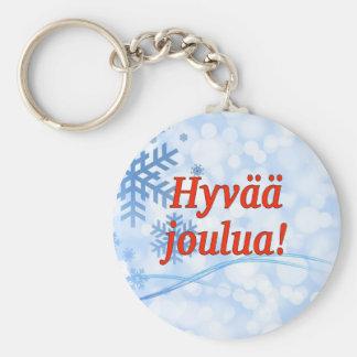 Hyvääのjoulua! フィンランドrfのメリークリスマス キーホルダー