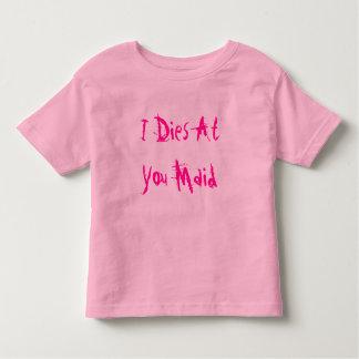 Iあなたのダイス女中 トドラーTシャツ