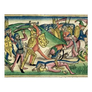 IからのAsaとBaasha間の王15 16戦争、 ポストカード