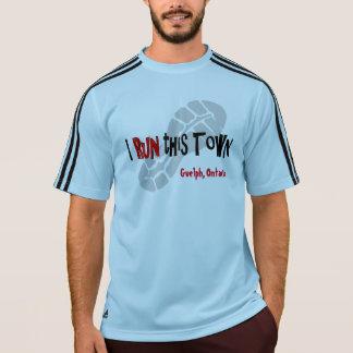 Iこの町カスタムなアディダスSSを走って下さい Tシャツ