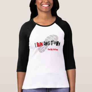 Iこの町-後走られるカスタム--を走って下さい Tシャツ