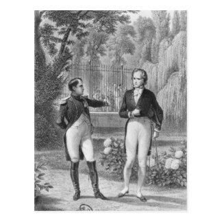 Iつおよびベンジャーミンにナポレオンの間で会います ポストカード