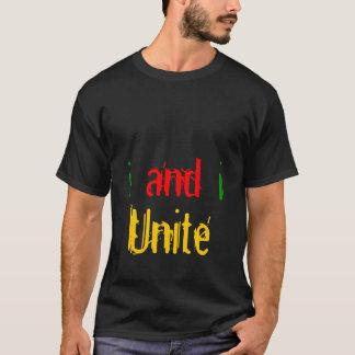 Iつおよび私は結合します Tシャツ