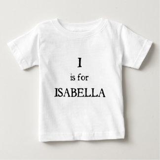 Iつはイザベラのためです ベビーTシャツ