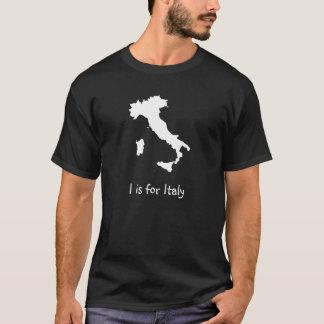 Iつはイタリアのためです Tシャツ