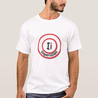 Iつは帝国主義のためです Tシャツ