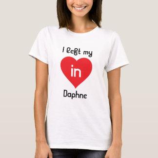 IつはDaphneの私のハートを残しました Tシャツ