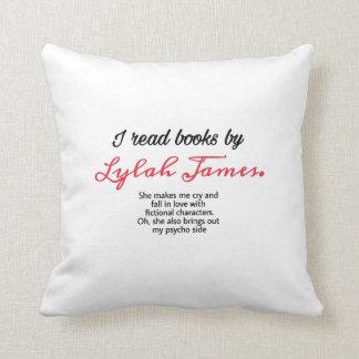 Iつはlylahのジェームスの枕によって本を読みました クッション