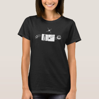 (Iのヨガの)女性のHanes ComfortSoft®のTシャツ Tシャツ