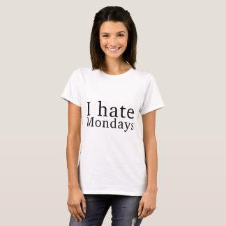 ♛ Iの憎悪月曜日 Tシャツ