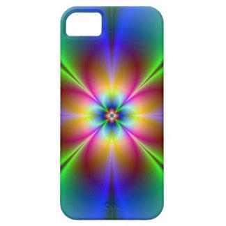 Iの電話のためのネオンデイジーの写真 iPhone SE/5/5s ケース