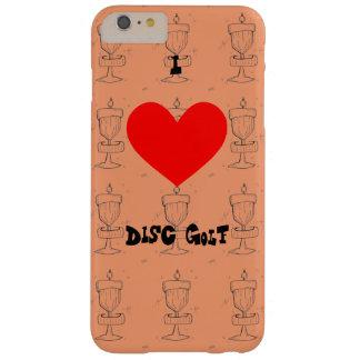 Iの♥ディスクゴルフIphone場合またはカバーw/artistイメージ Barely There iPhone 6 Plus ケース