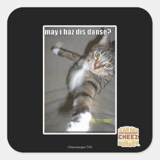 Iのhaz disは踊ってもよいですか。 スクエアシール