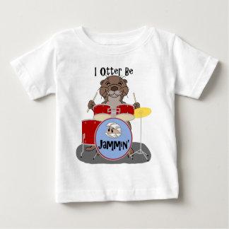 IカワウソはJamminです ベビーTシャツ