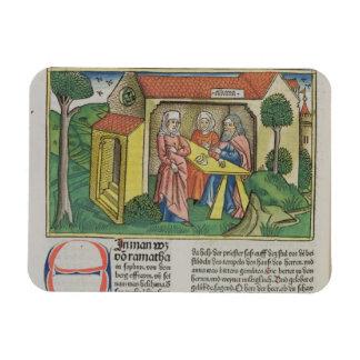 Iサミュエルの1:8 Elkanahは「Nuからのハナを、慰めます マグネット