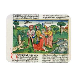 Iサミュエル10 Saulの即位そして塗ること、 マグネット