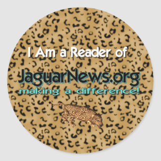 Iジャガーのニュースを読んで下さい ラウンドシール