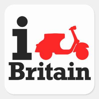 Iスクーターのイギリス スクエアシール