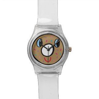 Iドーナツは何時にあるか知っていますか。! 腕時計